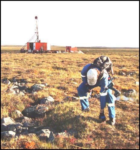 Uranium exploration is de risked with geochemical soil gas for Soil exploration